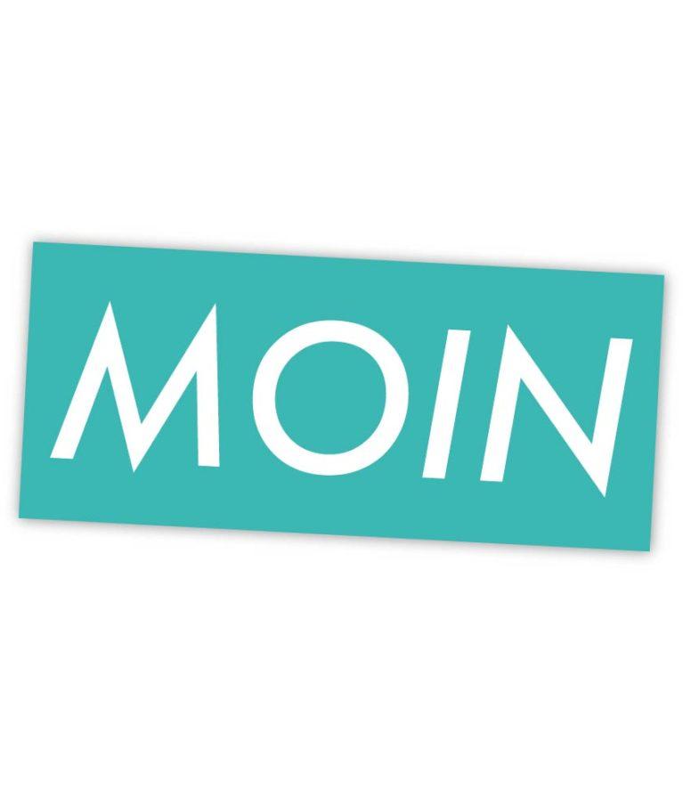 MOIN Sticker Colour Blau