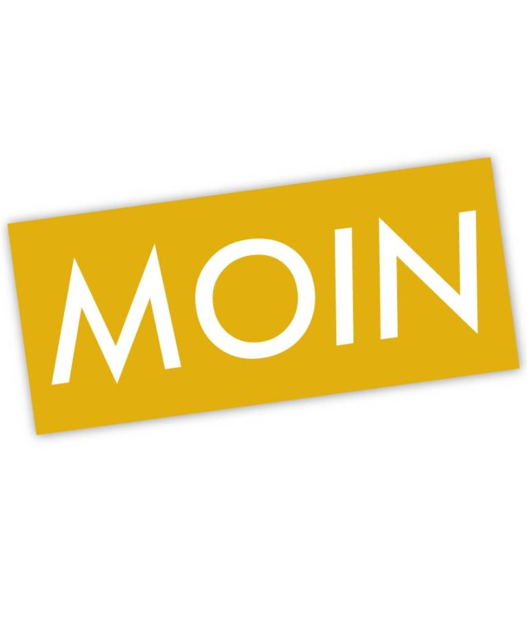 MOIN Sticker Colour Gelb