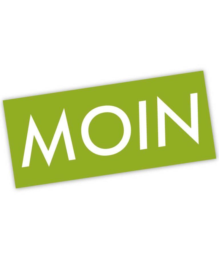 MOIN Sticker Colour Grün