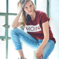 Moin Shirt Sommer Edition 19 Weinrot 2