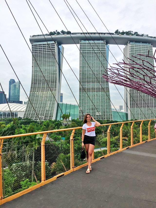 Moin Moment Aus Singapur