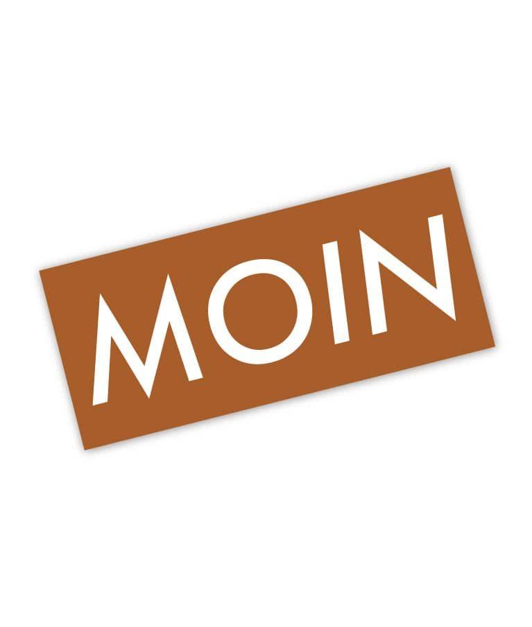 Moin Sticker Colour 2 Karamell