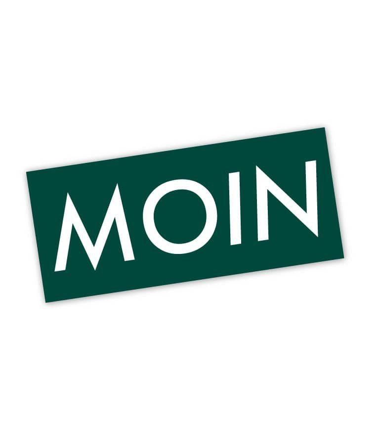 Moin Sticker Colour 2 Kieferngrün