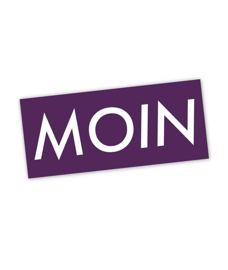Moin Sticker Colour 2 Single Ultraviolett